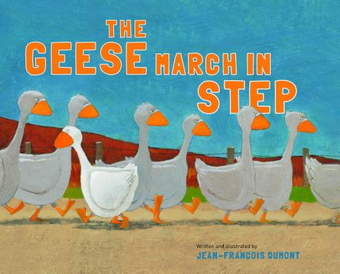 The Geese March in Step By Dumont, Jean-Francois
